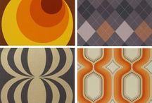 Patterns + textures + colors