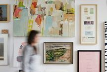 home // wall / by Stephanie Ward