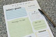 plan & organize / by Sarah Sorensen