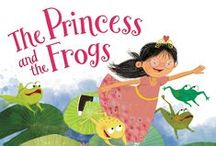 The Princess and the Frogs by Veronica Bartles / Updates about and the inspirations for my upcoming debut picture book, THE PRINCESS AND THE FROGS (coming November 15, 2016 from Balzer & Bray)