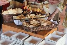 Crave's Displays / Crave Catering's buffets, food stations and more.