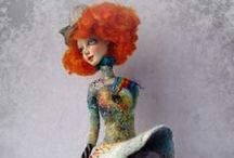 Art Dolls / There is so much talent in the world.  Who wouldn't be inspired by these amazing creations?!