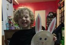 Easter / Ideas for everything having to do with Easter including: Projects | Easter Dinner | Easter Decor | Easter Crafts | Easter Baskets | Easter Activities