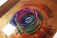Resin Art / So many possibilities with Resin... love it!