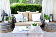 Home: Decor, Exterior Design, Outdoor Spaces / by Morgan Gunther
