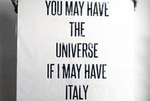 prima o poi. / tornerò alla mia Italia amata.