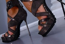 walk this way... / Shoes, heels, sneakers.  High heels.  Classy shoes.  Beautiful heels and boots.   / by Crystal Fuller