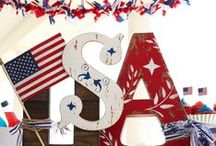 Patriotic Projects / Celebrate your patriotic pride with these high-spirited projects and ideas. / by Michaels Stores