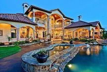 Gorgeous houses / Beautiful houses.  Big homes / by Crystal Fuller