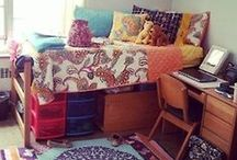 || Dorm Room Ideas || / Dream dorm room ideas and college study tips. / by Kylie