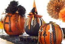 Pumpkin Ideas / Frightfully fun pumpkin inspiration for Fall, Halloween and Thanksgiving. / by Michaels Stores