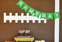 Football Watch Party & Tailgate Ideas / Football season. Whether you are gathering with friends and family at the stadium or cheering your team at home, we've got ideas to show your spirit! / by Michaels Stores