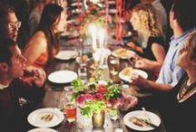 PARTY & DINNER / Let's have a big party and celebrate all night. Anything you need for an awesome party and a fun time.