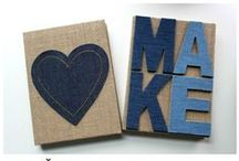 DIY Denim / On-trend Make Market denim is perfect for décor and DIY. / by Michaels Stores
