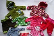 Ropa muñecas / Puppenkleidung
