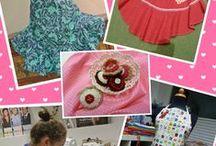 Mode und Design Nähworkshops / do it yourself mit Kindern und Jugendlichen nähen Workshops