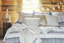 Dream Beds and Bedrooms / A little design inspiration to help you create your #dream bedroom, so you can #sleepeasy