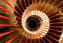 Staircases, stairways, steps / Walkways, stairways, staircases, beautiful entries.