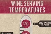 Wine Infographics / Infographics about champagne and other wines.