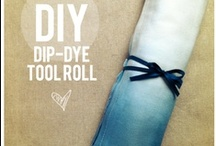 To DYE for!  / Colorful crafts and projects using RIT brand dye!