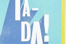 T Y P O G R A P H Y / Typography and lettering inspiration