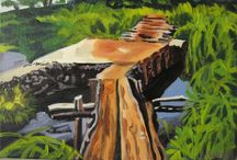 My Art :) / Paintings I've made, inspired by scenes in the Pacific Northwest and various travels around the globe.