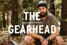 The Gearhead / Need a sleeping bag? No problem. Broken tent pole? You got three. Latest gadget? Of course. Because if it has to do with gear, you've got it. / by REI
