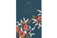 C O U N T I N G  T H E  D A Y S / Calendar design inspiration