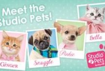 Studio Pets / There's nothing not to love about these adorable pets - The Studio Pets collection is now at Claire's!  / by Claire's Accessories