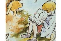 illustrations and Pooh / by Janita Mantel