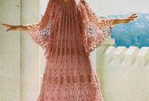 Vintage Crochet / Beautiful examples of crochet throughout history. Vintage crochet patterns