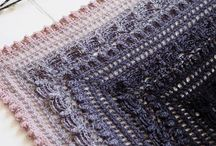 Crochet shawls / Crochet shawl patterns and inspiration