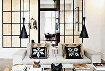 Mirrors / Espejos / Love the use of mirrors in interior design, here are some of my greatest inspirations. / Ideas para usar espejos en los espacios, son perfectos para dar amplitud, iluminar el espacio... ¡me encantan!