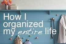Get Organized / ways to get organized around the home / by Sharing Visually