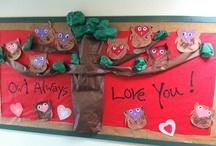 Bulletin Board Ideas / Owl Always Love You - Preschool Bulletin Board - Great Valentines Idea / by Lisa Harnar McCarty