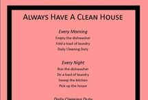 Cleaning tips/diy / by Shannon Welch