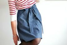 Miette Skirts / Inspiration for making the Miette skirt, an easy sewing pattern for beginners, available from shop.tillyandthebuttons.com/products/miette