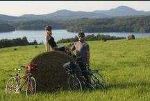 À vélo dans les Cantons-de-l'Est