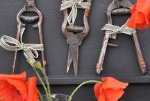 Garden and Outdoor Inspiration / Garden Ideas and garden displays