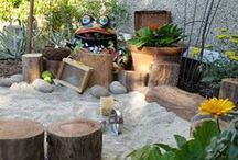 Kids' outdoor play areas and activities / by Alexandra Lehane
