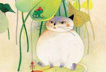 Crazy cat lady / Cats, gatti, kitty