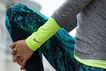Fitness Leggings / Fitness leggings in bright colors and funky patterns.