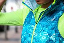Fitness Jackets / Fitness jackets in bright colors and funky patterns.