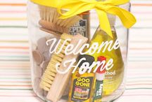 New Home Gifts / New Home and Home warming gift ideas