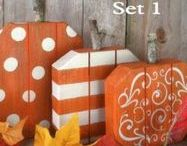 Fall Favorites / All things fall from decorating, baking, and entertaining. Pumpkins, Guords, Fall flowers, Scare Crows, Hay Bales