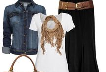 Personal Stylist / Clothing that I love, great ideas on how to tie scarves, and how to wear jewelry