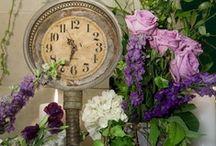 Clocks!! Time flies!! / by 🌺~allthingsshabby~🌺