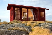 Tiny Spaces / I spend waaaay too much time looking at pictures of tiny cabins, houses, apartments and other cozy spaces.