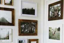 Wall Decor / Lovely ways to use your largest canvas...