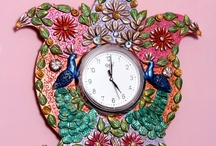 Classic Clocks & Watches / Check out a stunning array of collections of classic clocks and watches of the present and past / by Craftsvilla.com